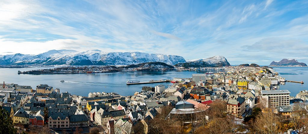alesund1 Alesund   The Most Beautiful City in Norway
