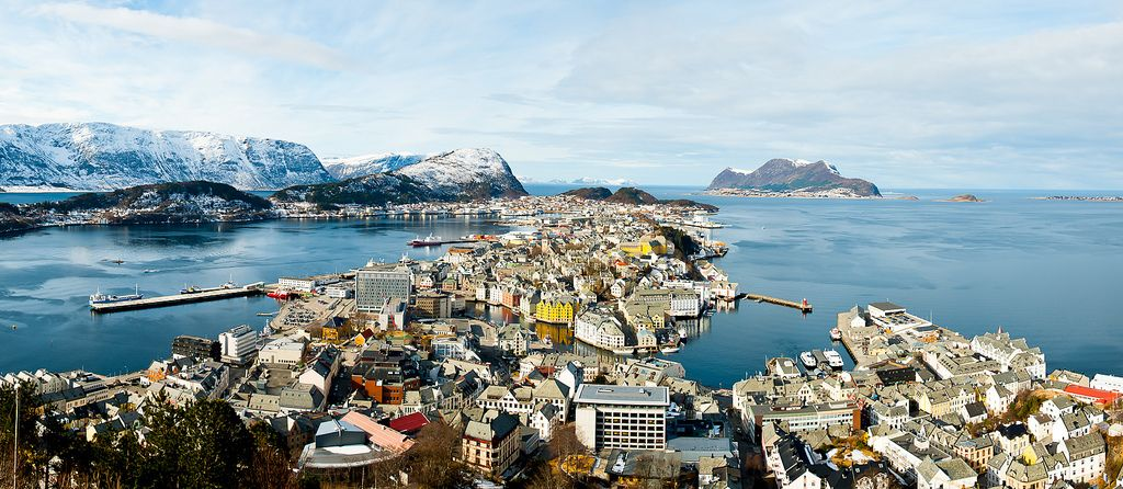 alesund2 Alesund   The Most Beautiful City in Norway
