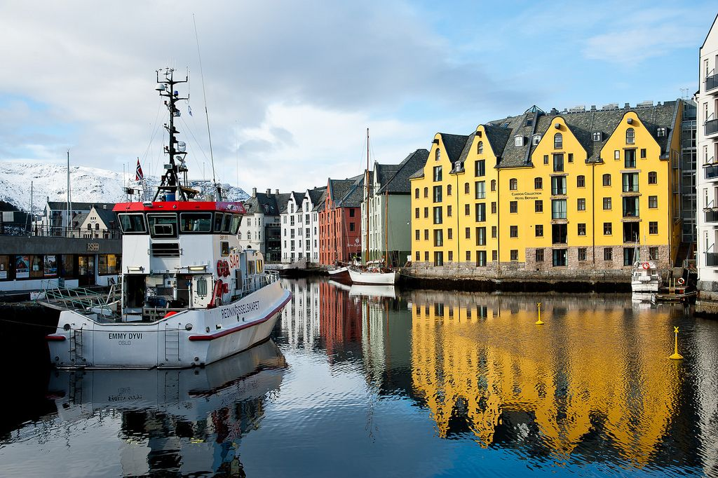 alesund3 Alesund   The Most Beautiful City in Norway