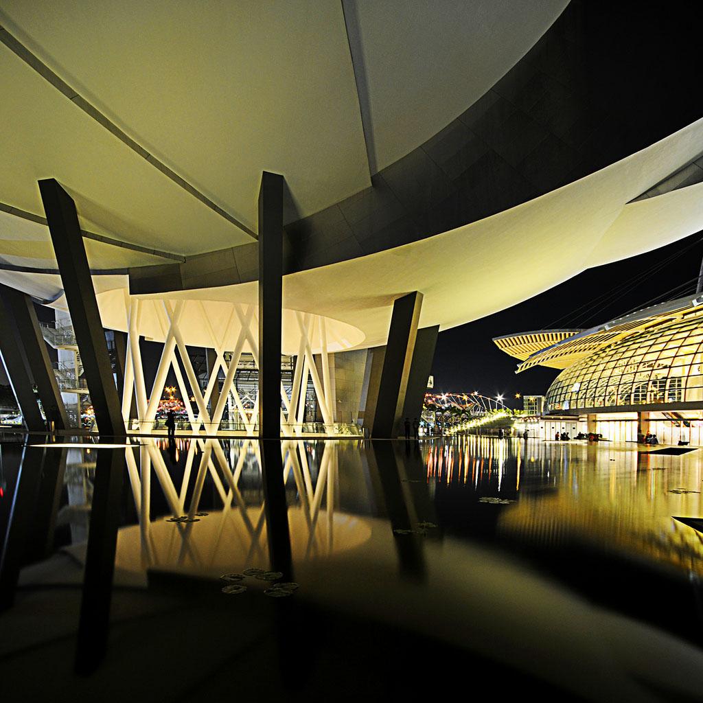 singapore art museum6 ArtScience Museum in Singapore Inspired by Lotus Flower