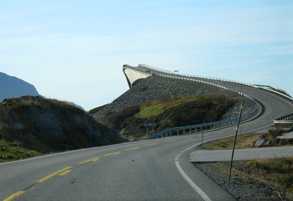 atlantic road1 Atlanterhavsveien   Best Road Trip in Norway