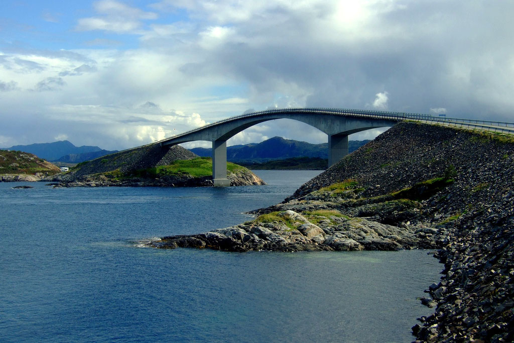 atlantic road7 Atlanterhavsveien   Best Road Trip in Norway