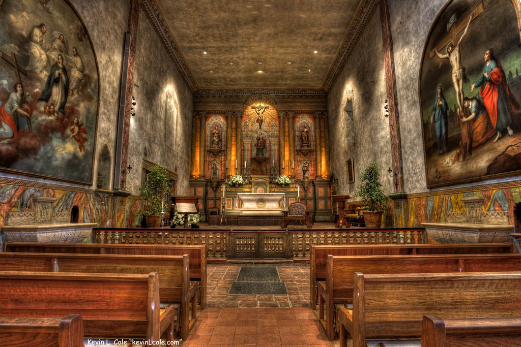 mission santa barbara4 Best HDR Pictures of Mission Santa Barbara