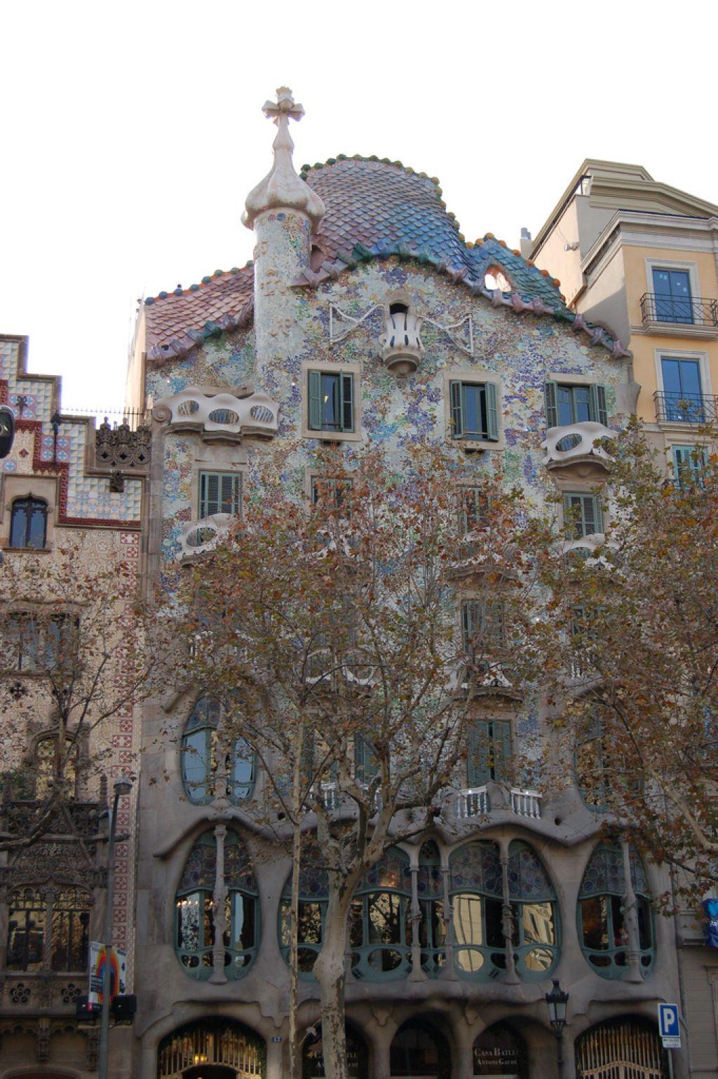 casa batllo16 Casa Batllo   Original Work by Antoni Gaudi