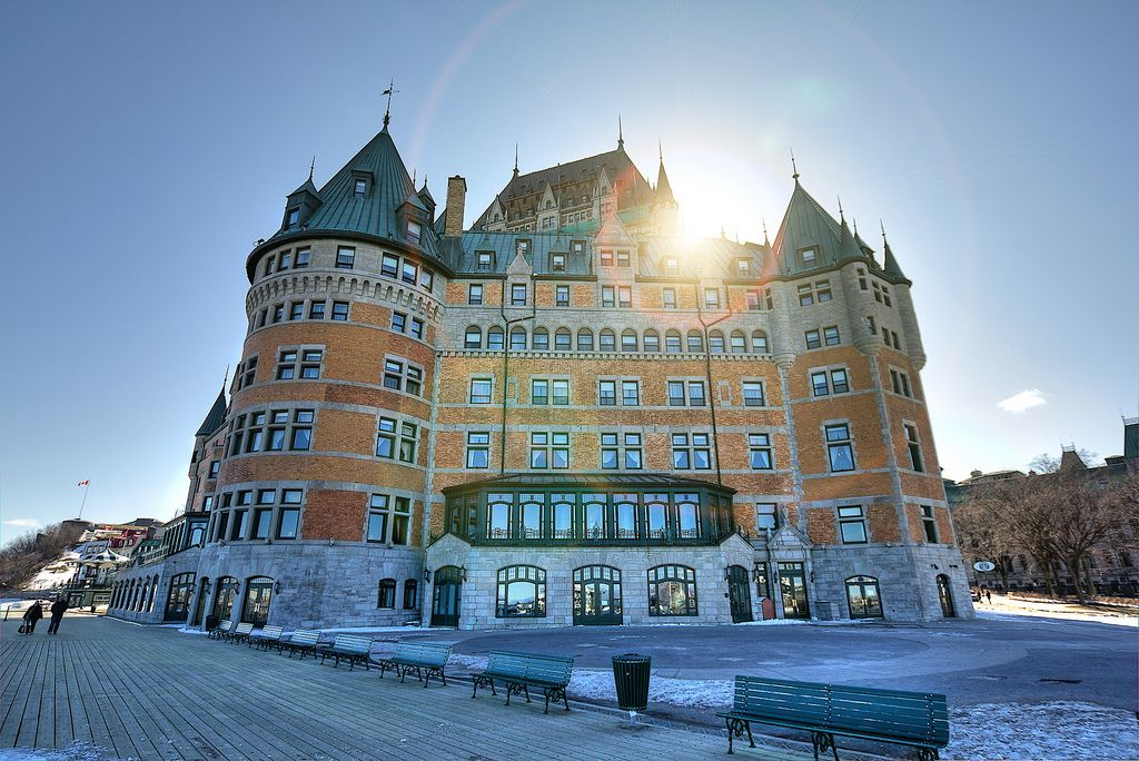 frontenac1 Chateau Frontenac   National Historic Site of Canada