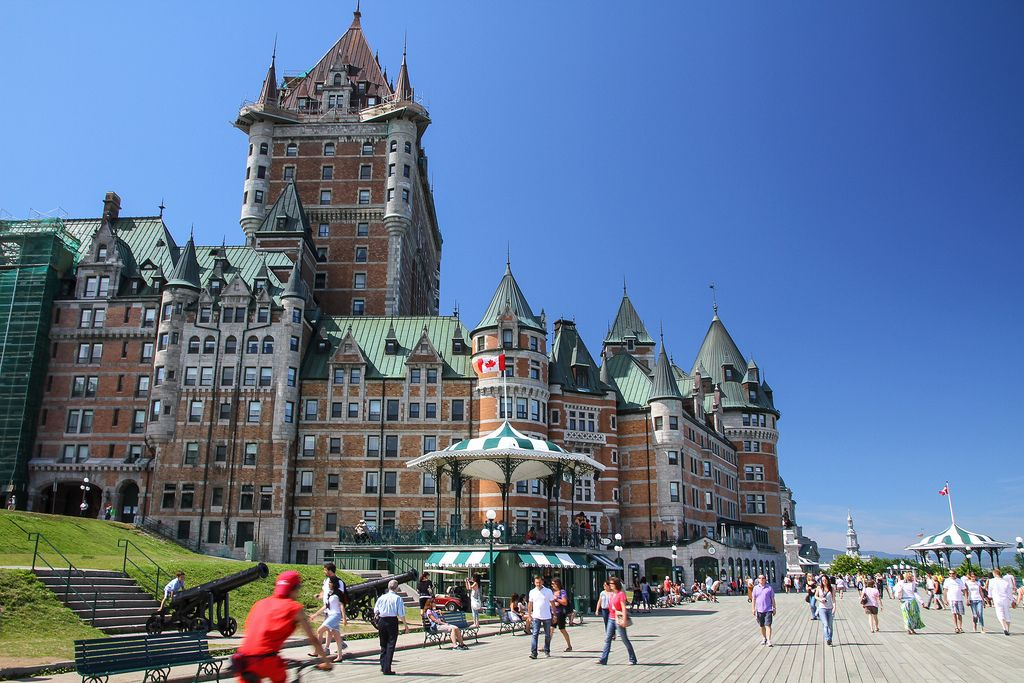 frontenac3 Chateau Frontenac   National Historic Site of Canada