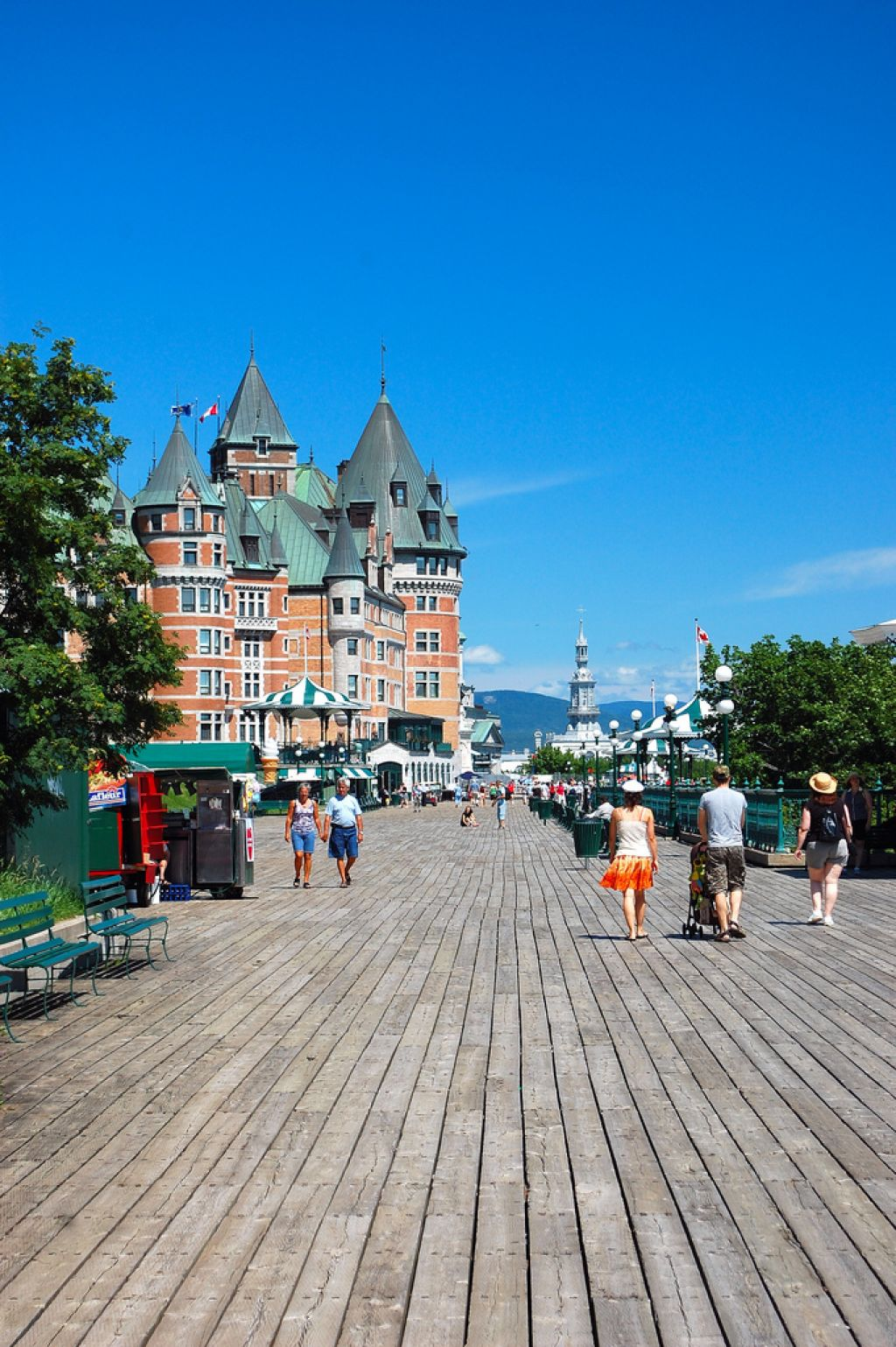 frontenac4 Chateau Frontenac   National Historic Site of Canada