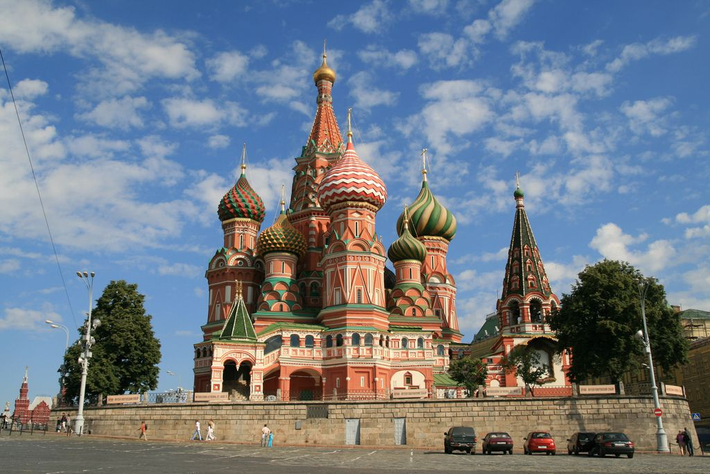 st basils cathedral1 Colorful Saint Basils Cathedral in Moscow, Russia