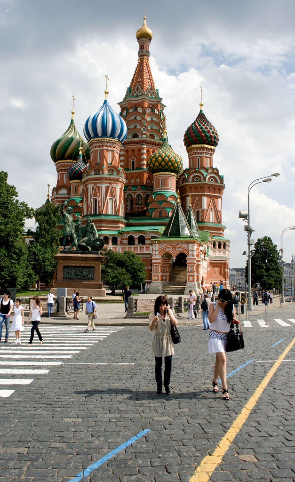 st basils cathedral2 Colorful Saint Basils Cathedral in Moscow, Russia