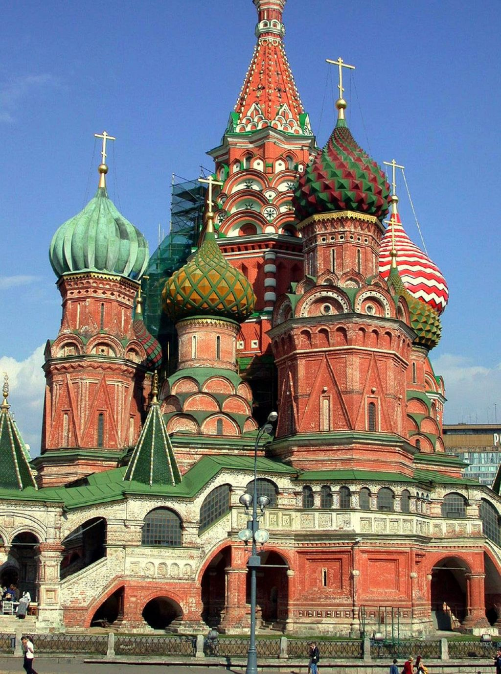 st basils cathedral3 Colorful Saint Basils Cathedral in Moscow, Russia