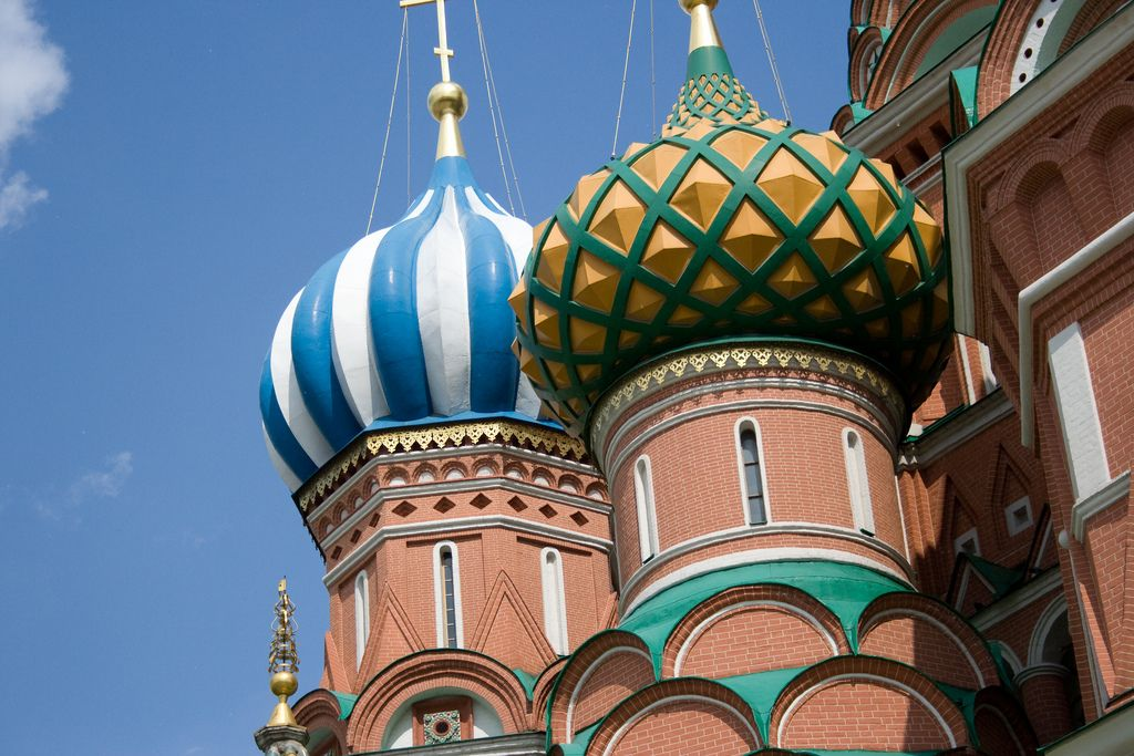 st basils cathedral4 Colorful Saint Basils Cathedral in Moscow, Russia
