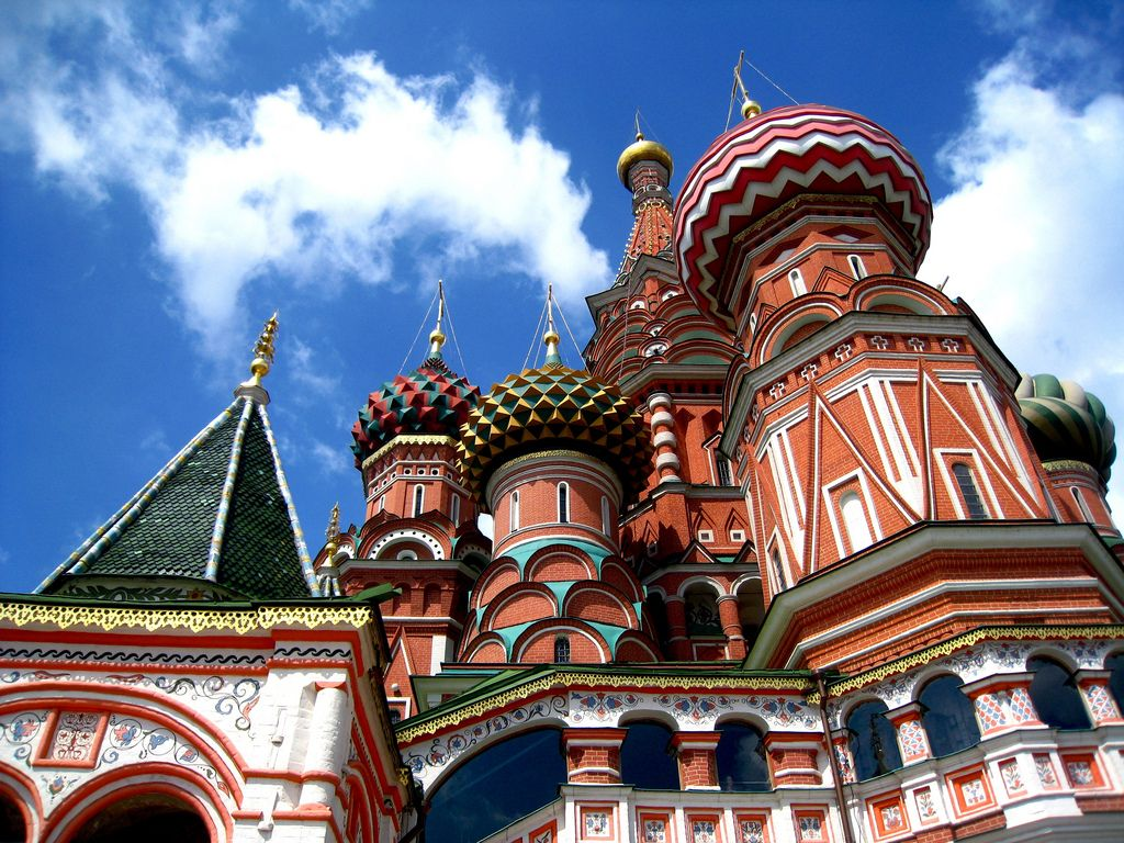 st basils cathedral5 Colorful Saint Basils Cathedral in Moscow, Russia