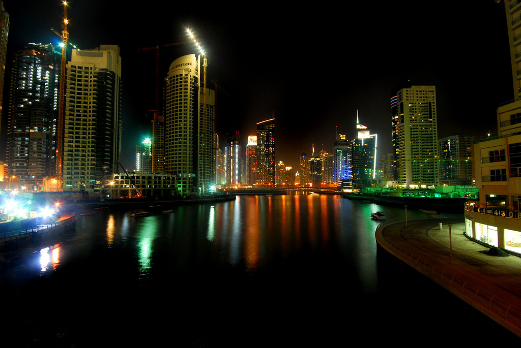 dubai night3 Dubai City at Night