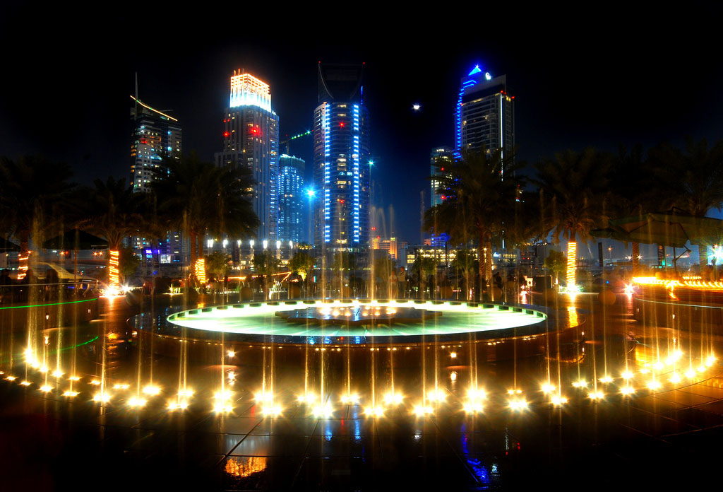 dubai night7 Dubai City at Night