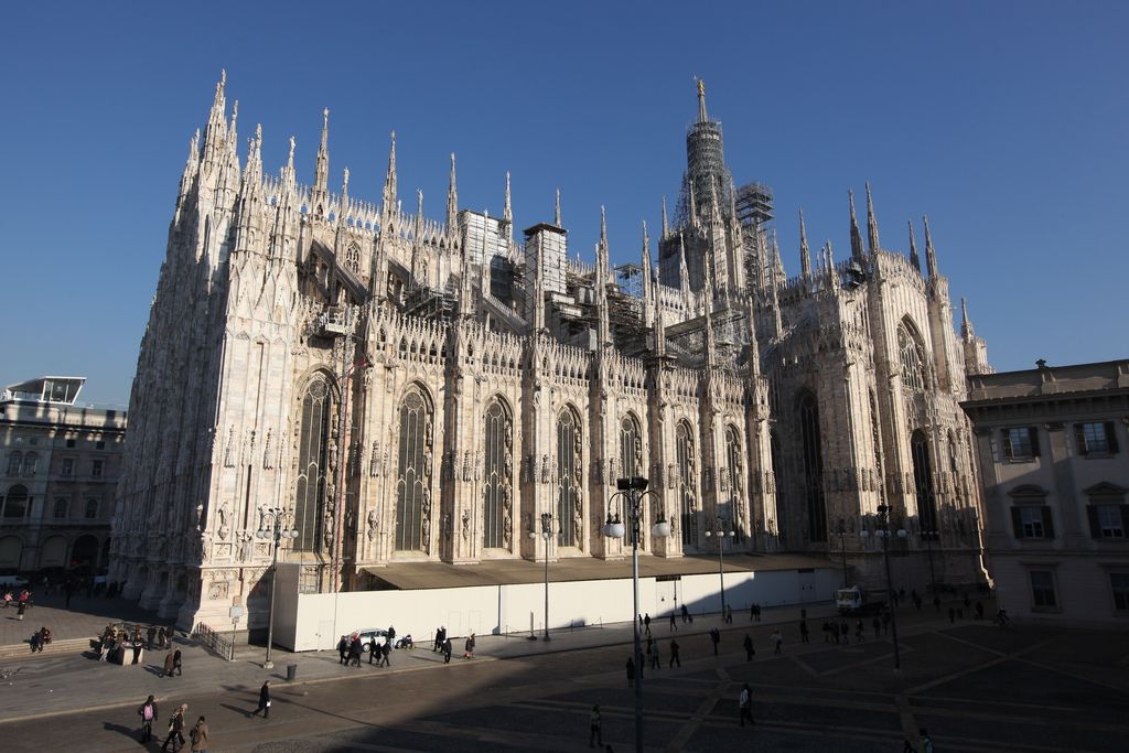 duomo milano1 Duomo di Milano   The Most Important Gothic Cathedral in Italy