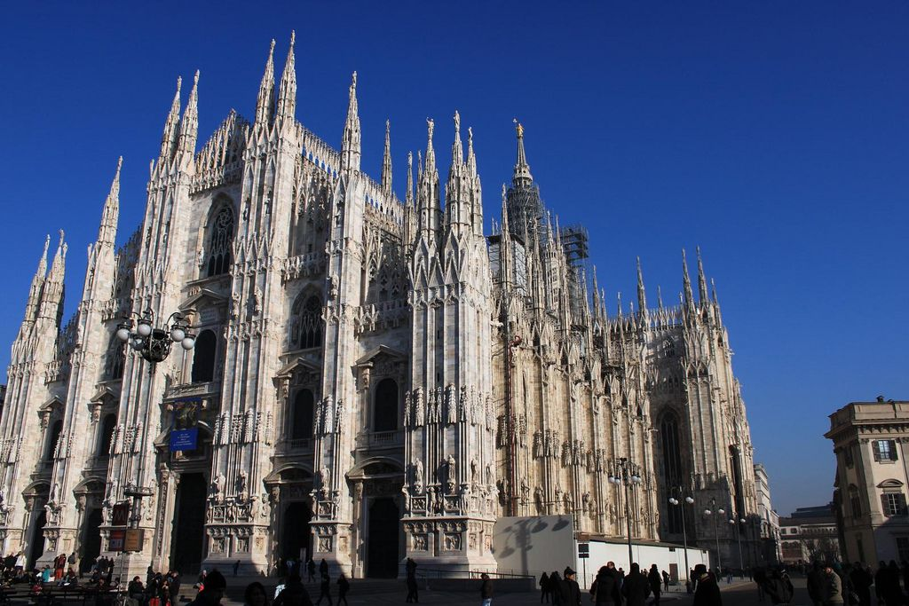 duomo milano6 Duomo di Milano   The Most Important Gothic Cathedral in Italy