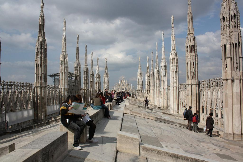 duomo milano7 Duomo di Milano   The Most Important Gothic Cathedral in Italy