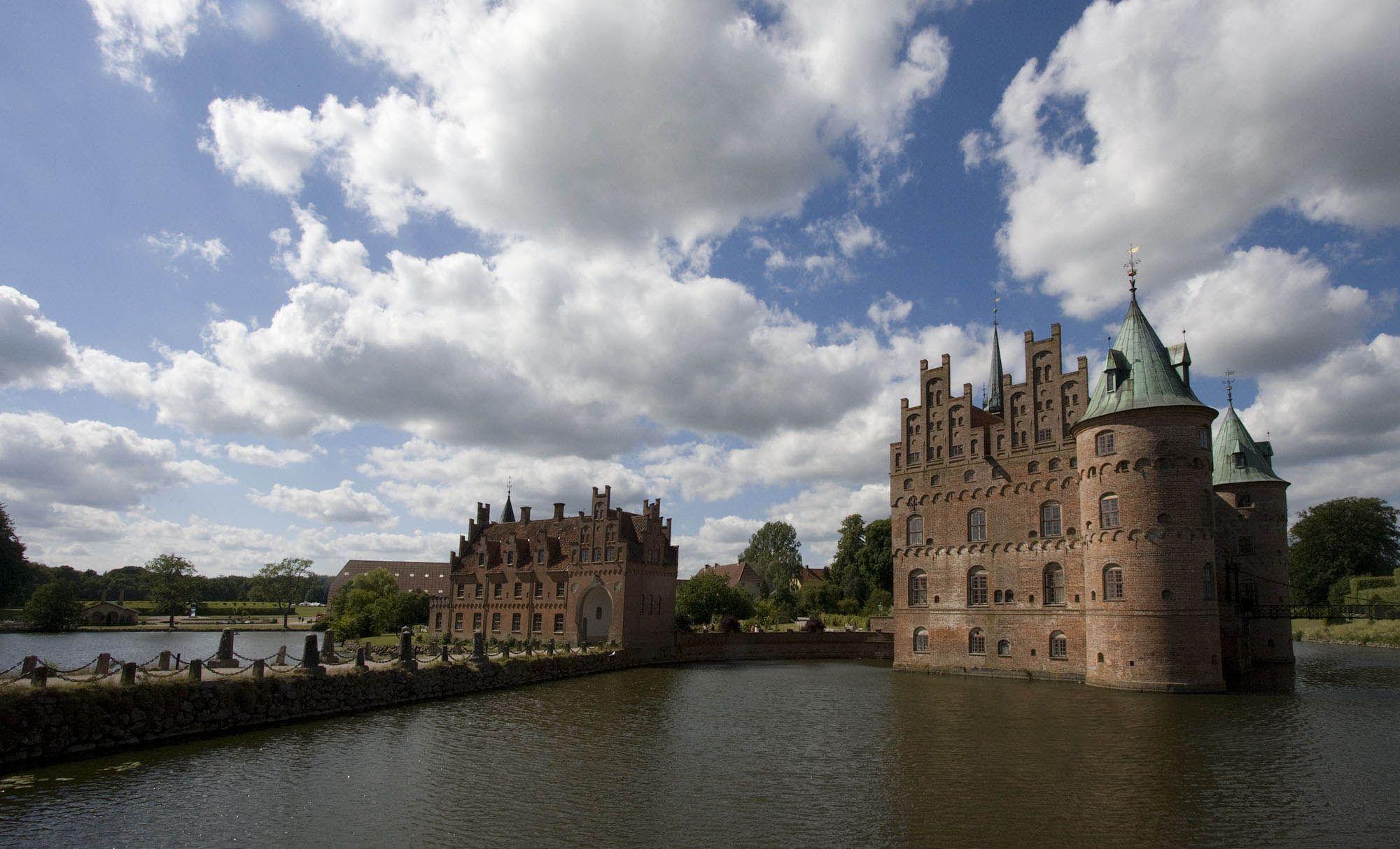 egeskov Egeskov Renaissance Water Castle in Denmark