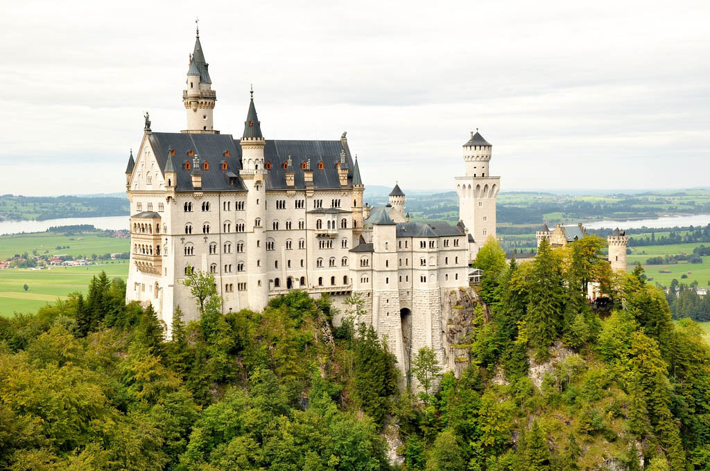 neuschwanstein castle1 Fairy Tale Castle Neuschwanstein in Bavaria
