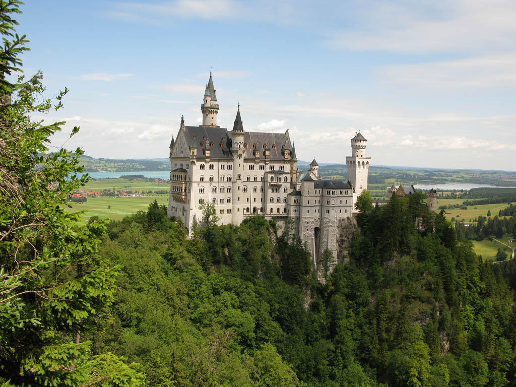 neuschwanstein castle2 Fairy Tale Castle Neuschwanstein in Bavaria