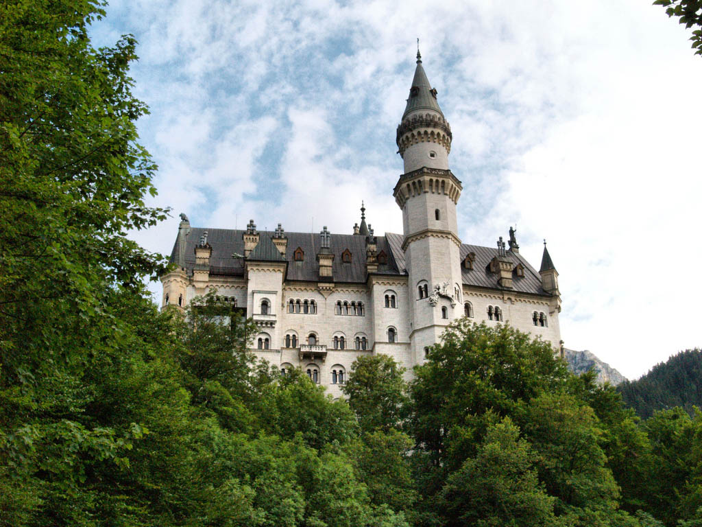neuschwanstein castle3 Fairy Tale Castle Neuschwanstein in Bavaria