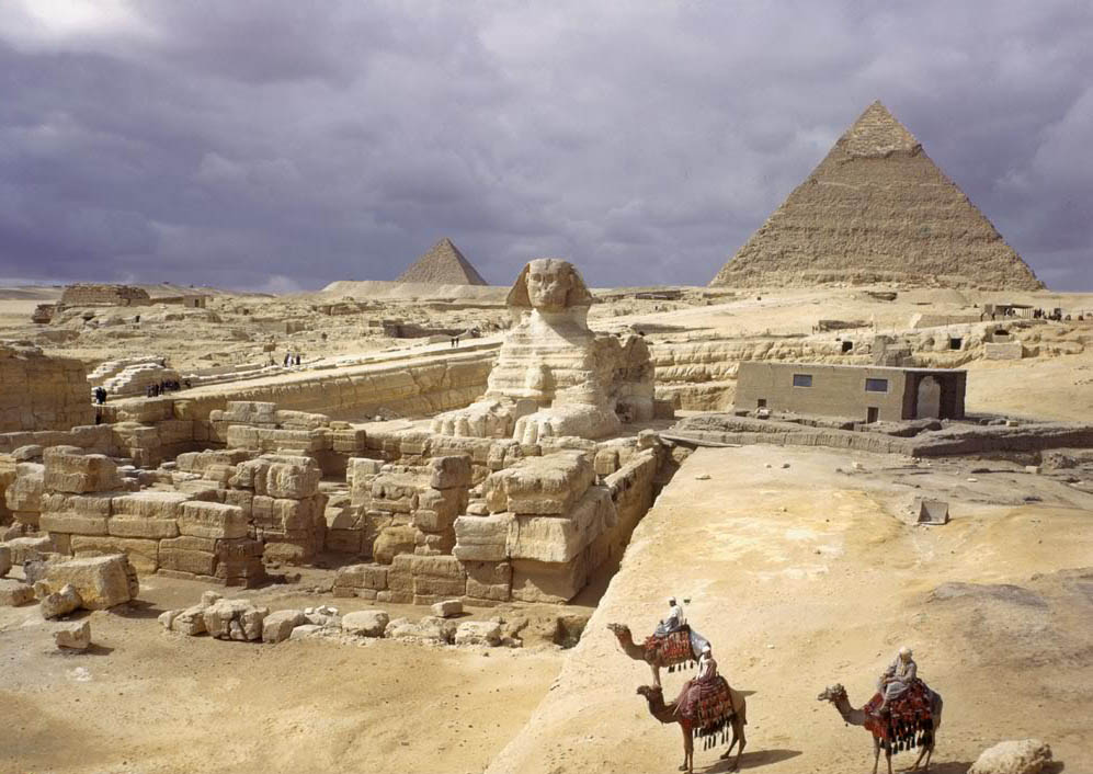 egyptian pyramids11 The Great Pyramids of Giza, Egypt