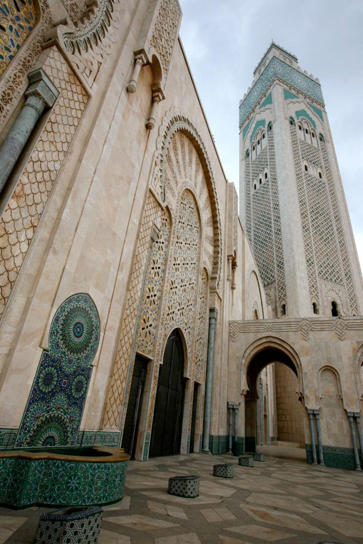 hassan ii mosque1 Hassan II Mosque in Casablanca, Morocco