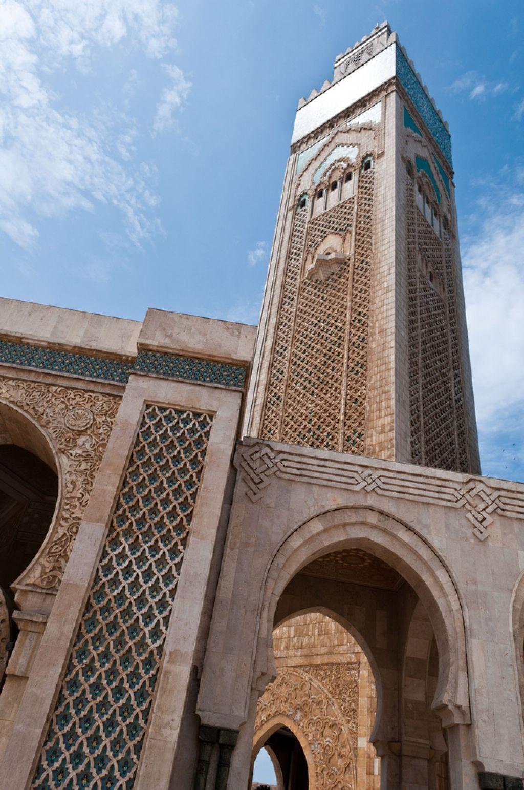 hassan ii mosque2 Hassan II Mosque in Casablanca, Morocco