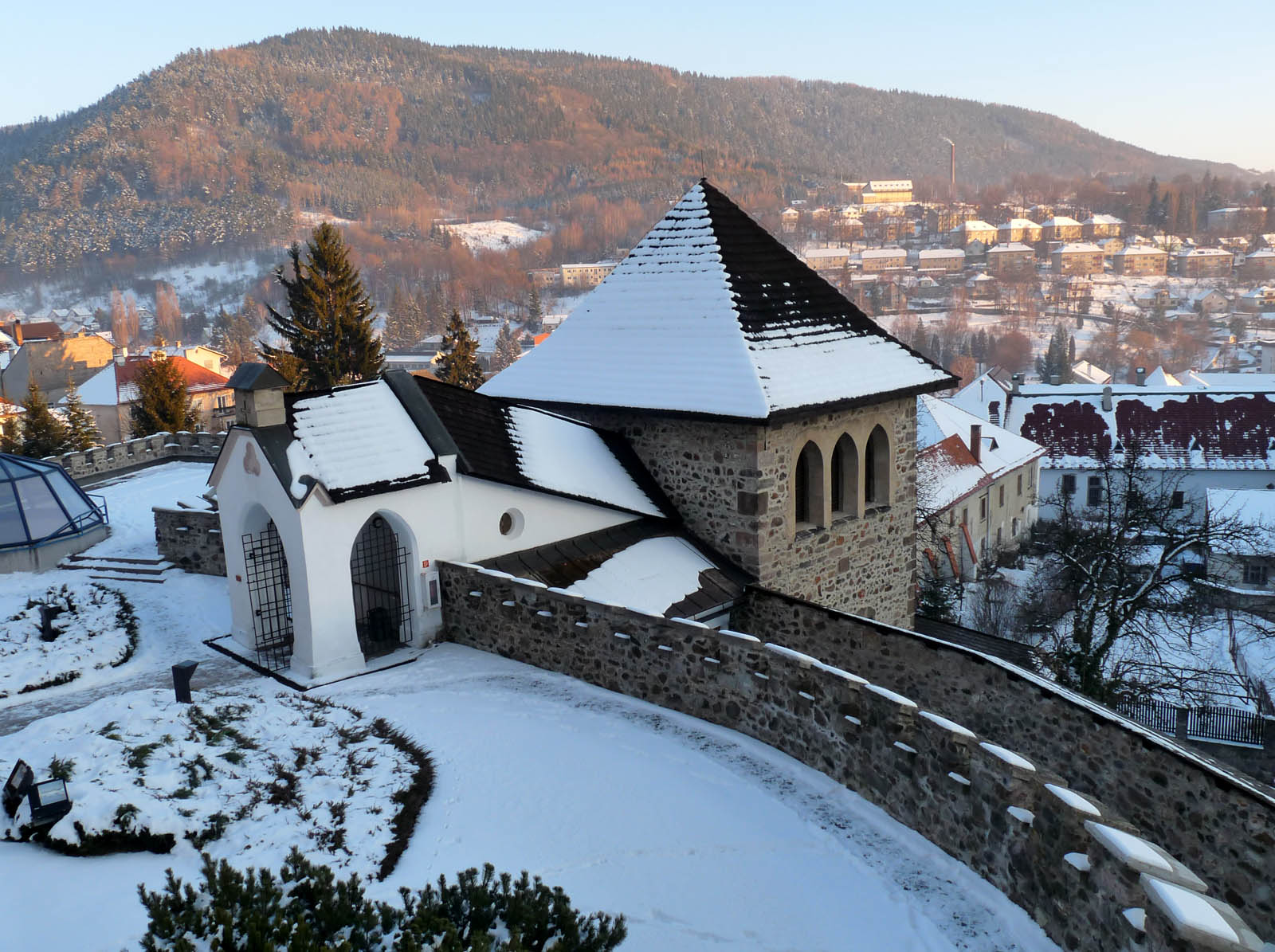 town castle kremnica5 Historical City Castle of Kremnica, Slovakia