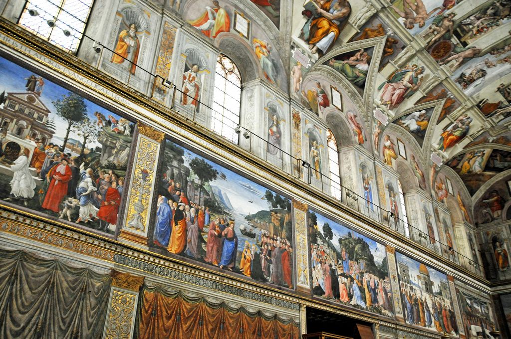 sistine chapel1 Inside the Sistine Chapel