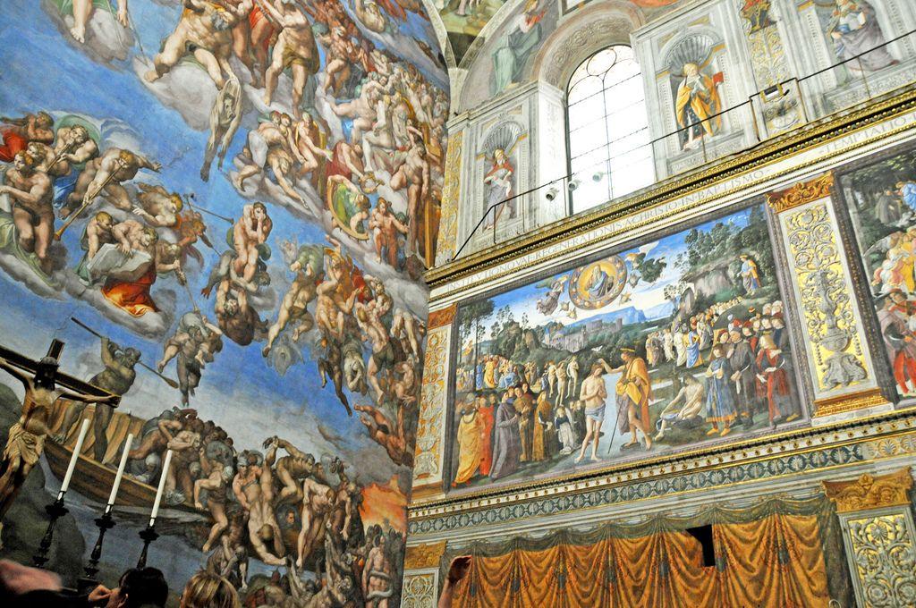 sistine chapel2 Inside the Sistine Chapel