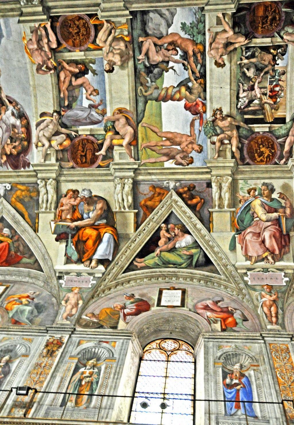 sistine chapel4 Inside the Sistine Chapel