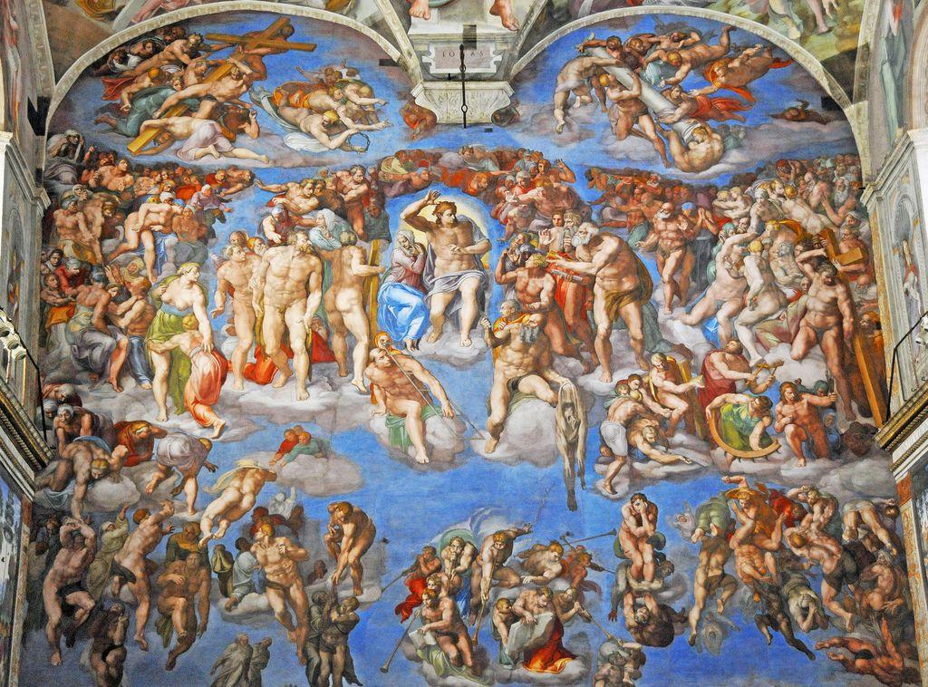 sistine chapel5 Inside the Sistine Chapel