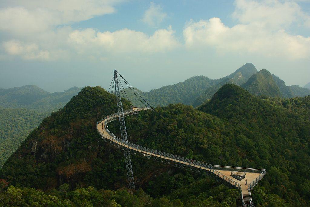 langkawi bridge Langkawi Sky Bridge in Malaysia