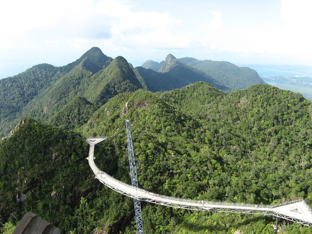 langkawi bridge3 Langkawi Sky Bridge in Malaysia