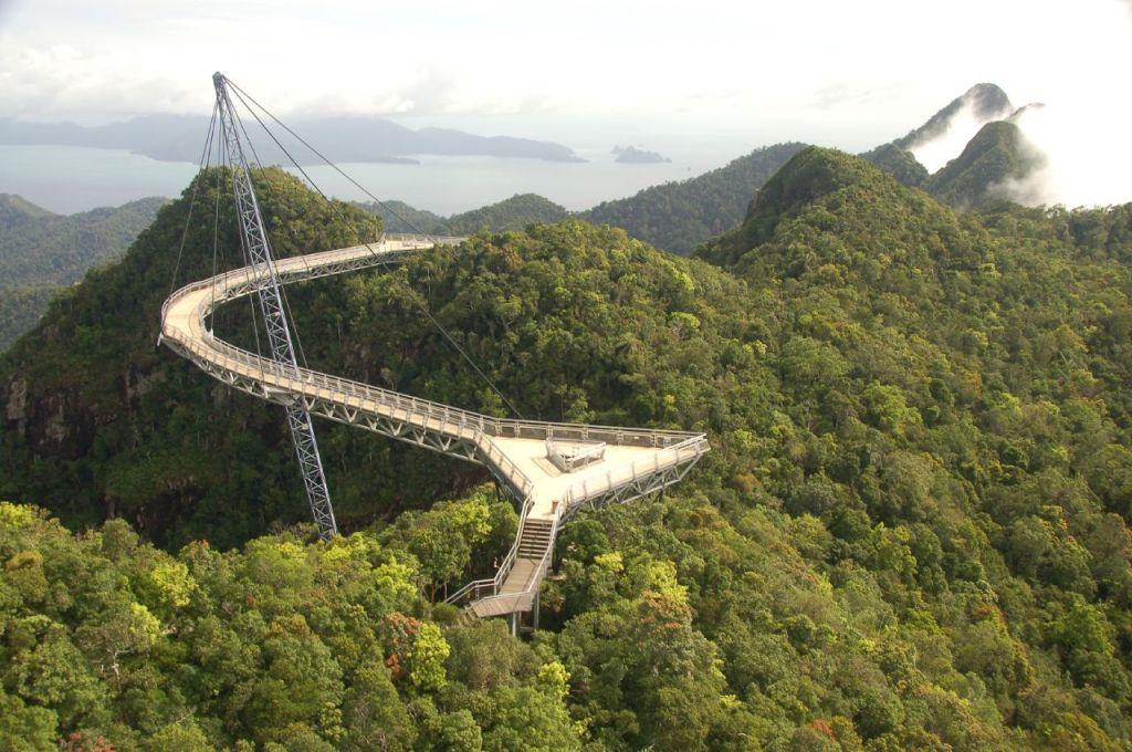 langkawi bridge7 Langkawi Sky Bridge in Malaysia