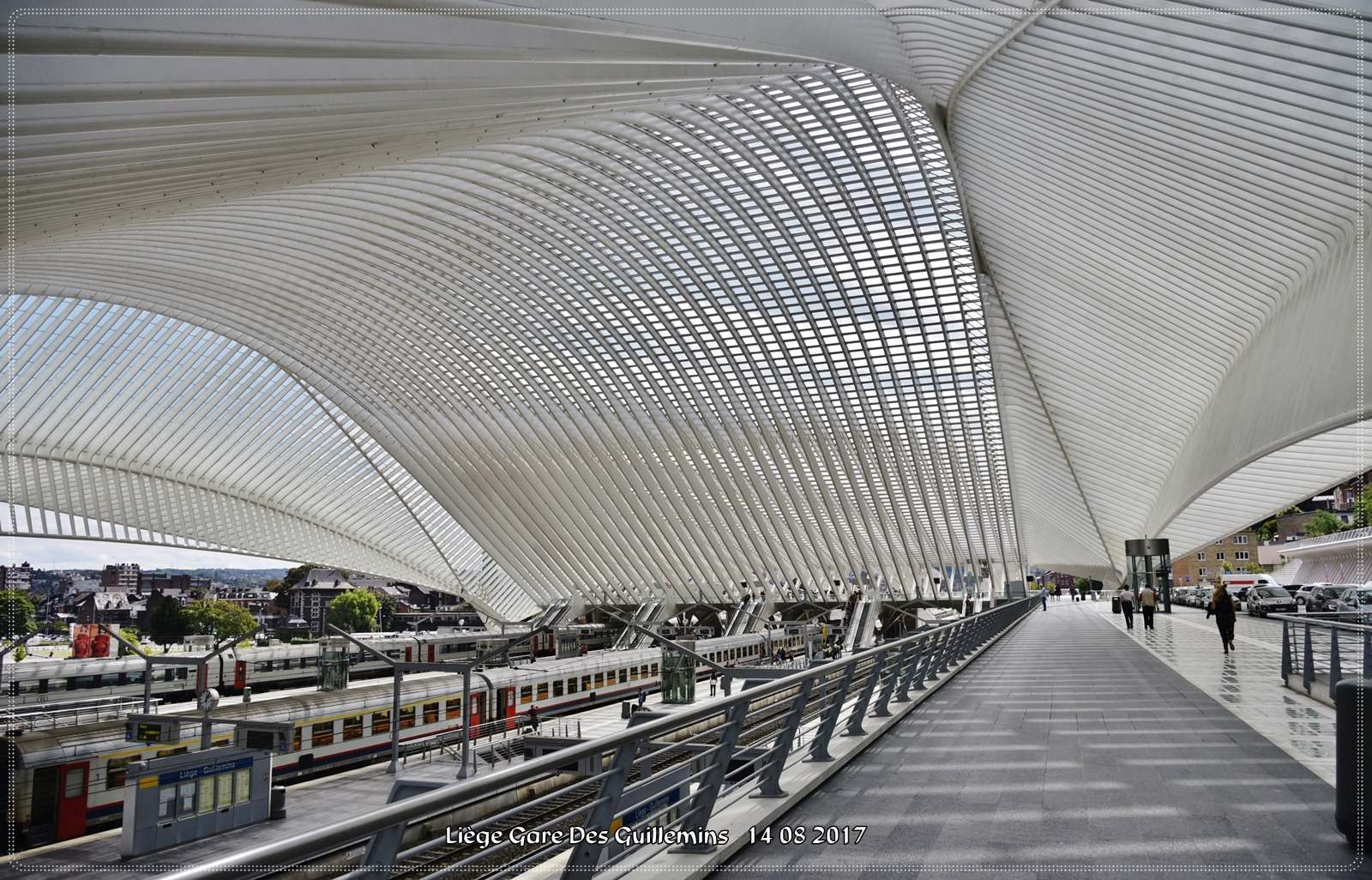 gare des guillemins Liege Guillemins Railway Station by Santiago Calatrava