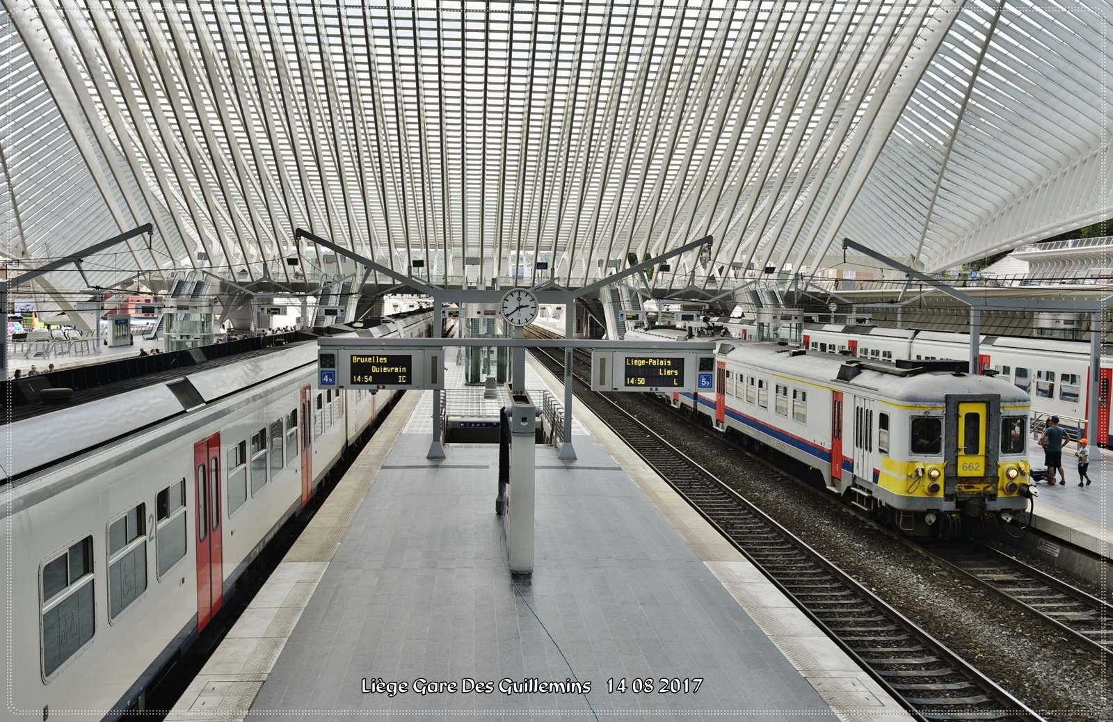 gare des guillemins5 Liege Guillemins Railway Station by Santiago Calatrava