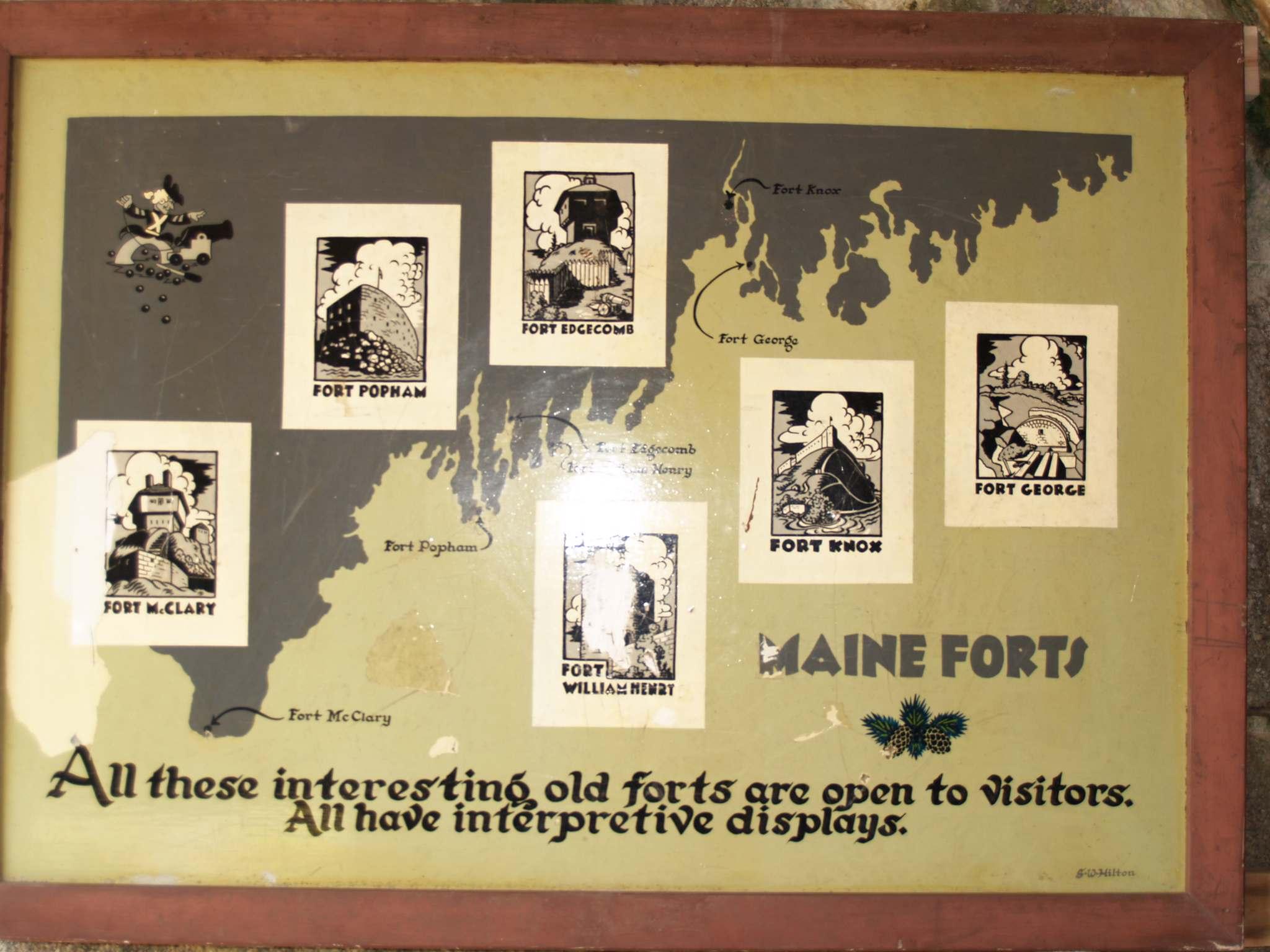 fort popham10 Majestic Fort Popham, Maine