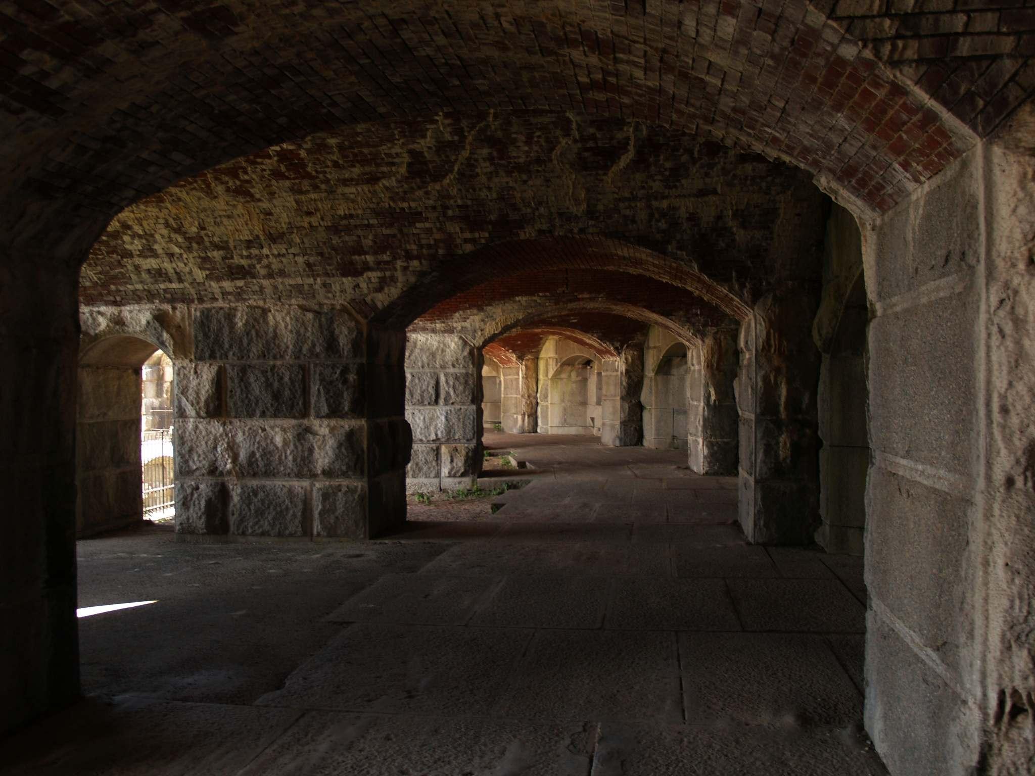fort popham4 Majestic Fort Popham, Maine