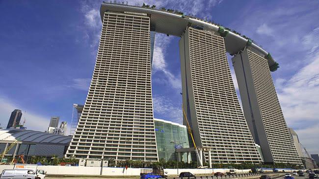 marina bay sands Marina Bay Sands in Singapure
