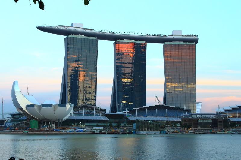 marina bay sands1 Marina Bay Sands in Singapure