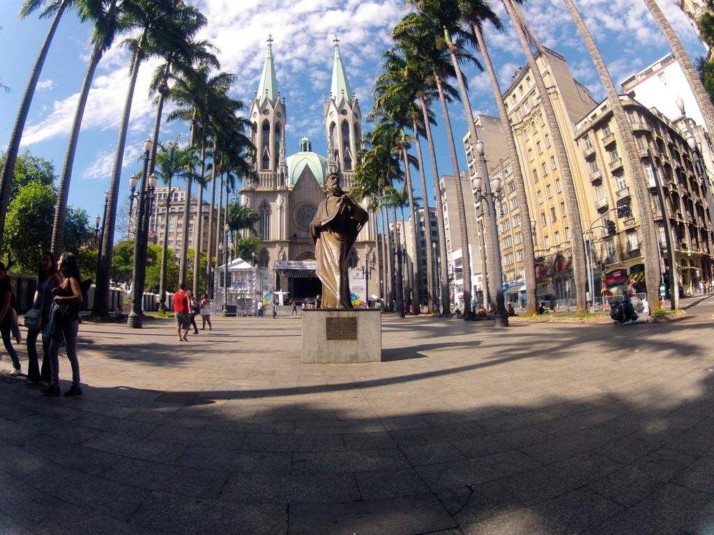 metropolitan cathedral Metropolitan Cathedral of Sao Paulo, Brazil