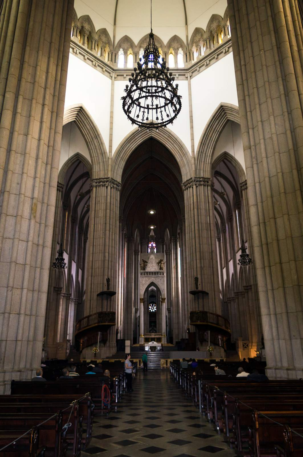 metropolitan cathedral4 Metropolitan Cathedral of Sao Paulo, Brazil