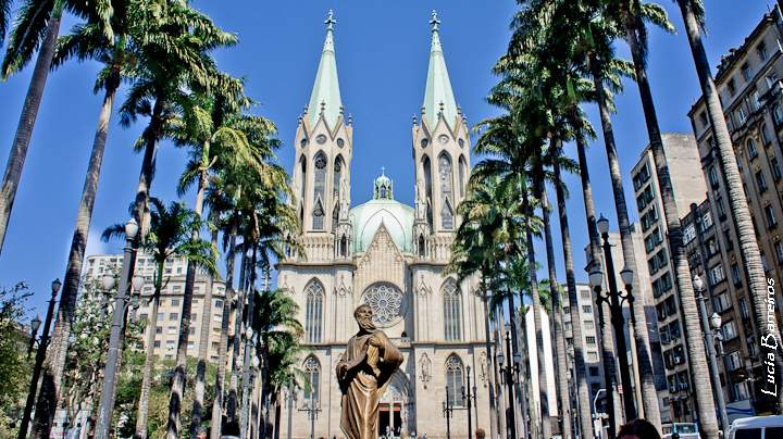 metropolitan cathedral6 Metropolitan Cathedral of Sao Paulo, Brazil