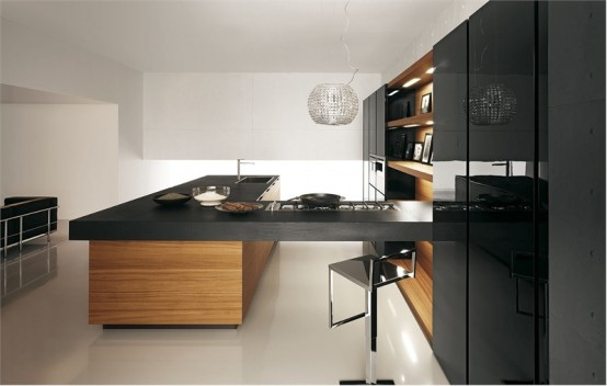 modern kitchen3 Modern Kitchen Design Inspirations