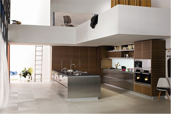 modern kitchen8 Modern Kitchen Design Inspirations