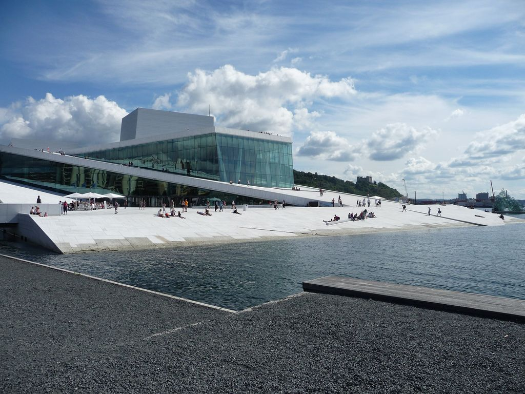 oslo opera The Norwegian Opera House in Oslo