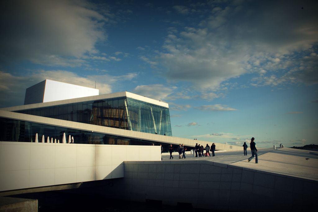 oslo opera3 The Norwegian Opera House in Oslo