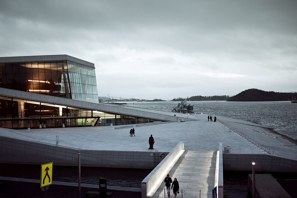 oslo opera4 The Norwegian Opera House in Oslo